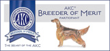 AKC Breeder of Merit